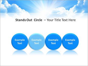Heaven Light PowerPoint Template - Slide 56