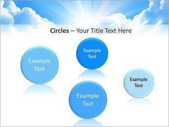 Heaven Light PowerPoint Template - Slide 57