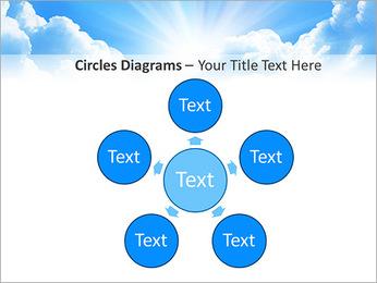 Heaven Light PowerPoint Template - Slide 58