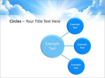 Heaven Light PowerPoint Template - Slide 59