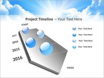 Heaven Light PowerPoint Template - Slide 6