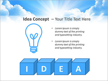 Heaven Light PowerPoint Template - Slide 60