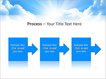 Heaven Light PowerPoint Template - Slide 68