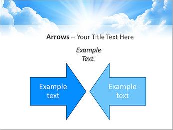 Heaven Light PowerPoint Template - Slide 70