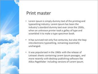 Heaven Light PowerPoint Template - Slide 76