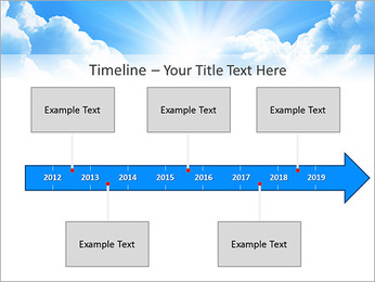 Heaven Light PowerPoint Template - Slide 8