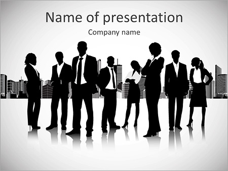 business orientation powerpoint template & backgrounds id, Modern powerpoint