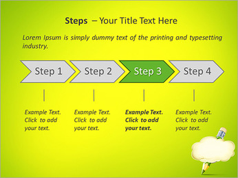Pencil Writing PowerPoint Templates - Slide 4