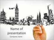 Turistické destinace PowerPoint šablony