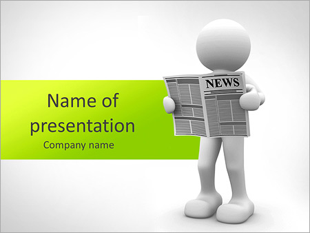 Newspaper Powerpoint Template Backgrounds Google Slides Id