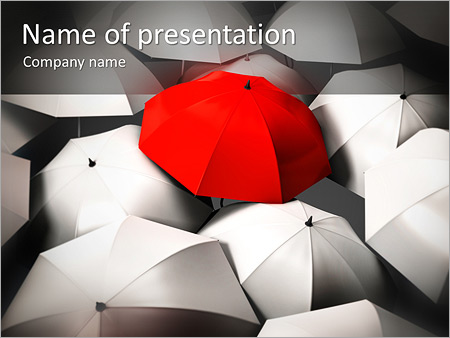 Red umbrella powerpoint template backgrounds id 0000005355 red umbrella powerpoint template toneelgroepblik Image collections