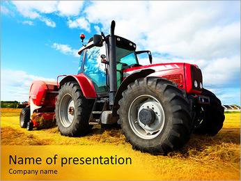 Tracteur Modèles des présentations  PowerPoint