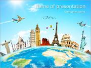 Travel Tour PowerPoint Templates