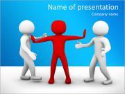 Pare Disputar Modelos de apresentações PowerPoint