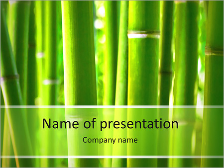 bamboo powerpoint template backgrounds google slides id