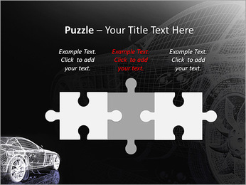 Modèle de voiture Modèles des présentations  PowerPoint - Diapositives 22