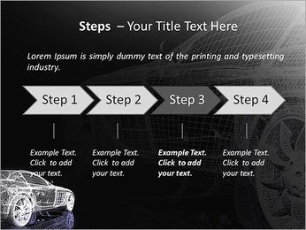 Modèle de voiture Modèles des présentations  PowerPoint - Diapositives 4