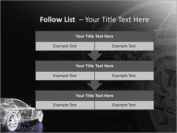 Modèle de voiture Modèles des présentations  PowerPoint - Diapositives 40