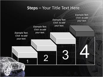 Modèle de voiture Modèles des présentations  PowerPoint - Diapositives 44