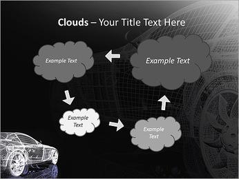 Modèle de voiture Modèles des présentations  PowerPoint - Diapositives 52