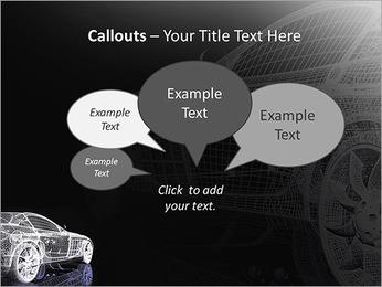 Modèle de voiture Modèles des présentations  PowerPoint - Diapositives 53