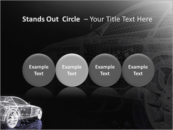 Modèle de voiture Modèles des présentations  PowerPoint - Diapositives 56