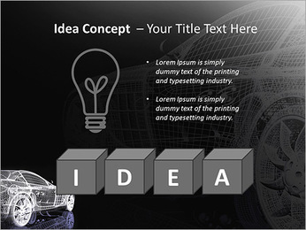 Modèle de voiture Modèles des présentations  PowerPoint - Diapositives 60