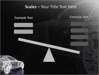 Modèle de voiture Modèles des présentations  PowerPoint - Diapositives 69