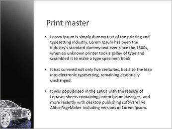 Modèle de voiture Modèles des présentations  PowerPoint - Diapositives 76