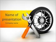 Réparation automobile Modèles des présentations  PowerPoint
