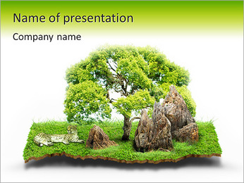 Peace Of Nature PowerPoint Template