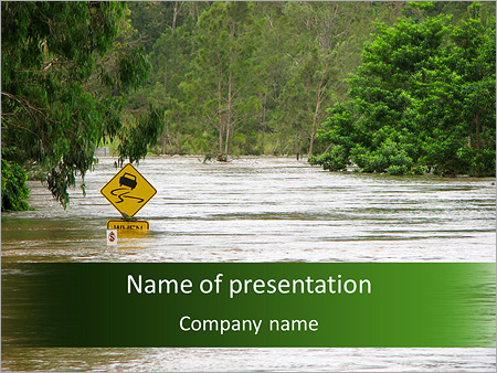 Flood powerpoint template backgrounds id 0000005409 flood powerpoint templates toneelgroepblik Gallery