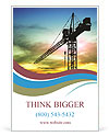 Building Crane Modelos de anúncio