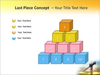 Construção Guindaste Modelos de apresentações PowerPoint - Slide 11