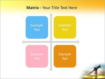 Construção Guindaste Modelos de apresentações PowerPoint - Slide 17