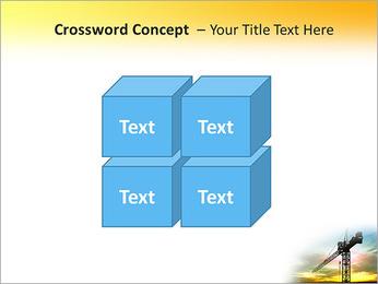 Construção Guindaste Modelos de apresentações PowerPoint - Slide 19