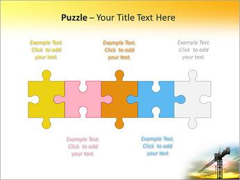 Construção Guindaste Modelos de apresentações PowerPoint - Slide 21