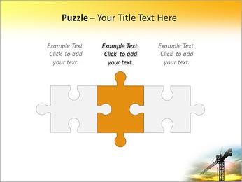 Construção Guindaste Modelos de apresentações PowerPoint - Slide 22