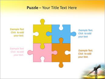 Construção Guindaste Modelos de apresentações PowerPoint - Slide 23
