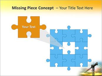 Construção Guindaste Modelos de apresentações PowerPoint - Slide 25