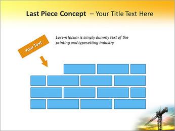 Construção Guindaste Modelos de apresentações PowerPoint - Slide 26