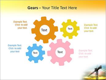 Construção Guindaste Modelos de apresentações PowerPoint - Slide 27