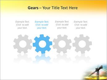 Construção Guindaste Modelos de apresentações PowerPoint - Slide 28