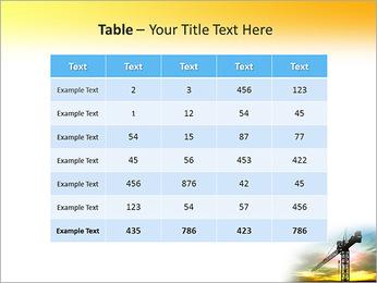 Construção Guindaste Modelos de apresentações PowerPoint - Slide 35