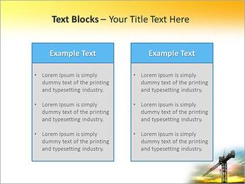 Construção Guindaste Modelos de apresentações PowerPoint - Slide 37