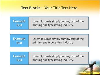 Construção Guindaste Modelos de apresentações PowerPoint - Slide 38
