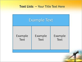 Construção Guindaste Modelos de apresentações PowerPoint - Slide 39