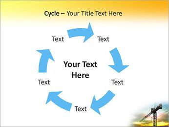 Construção Guindaste Modelos de apresentações PowerPoint - Slide 42