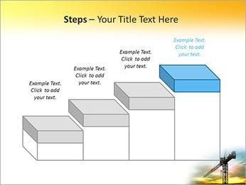 Construção Guindaste Modelos de apresentações PowerPoint - Slide 44