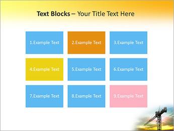 Construção Guindaste Modelos de apresentações PowerPoint - Slide 48